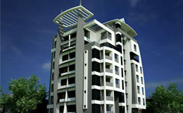 2, 3 BHK Flat in Trimurti Nagar